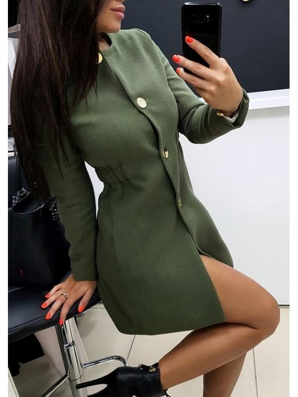 Płaszcz khaki m