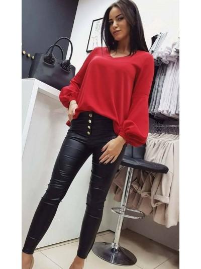 koszula czerwona S