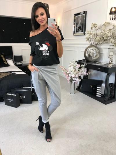 koszulka cocco Miki czarna