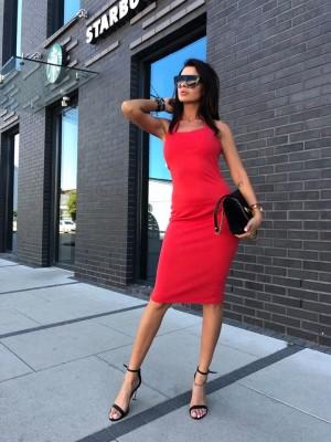 sukienka elegant czerwona