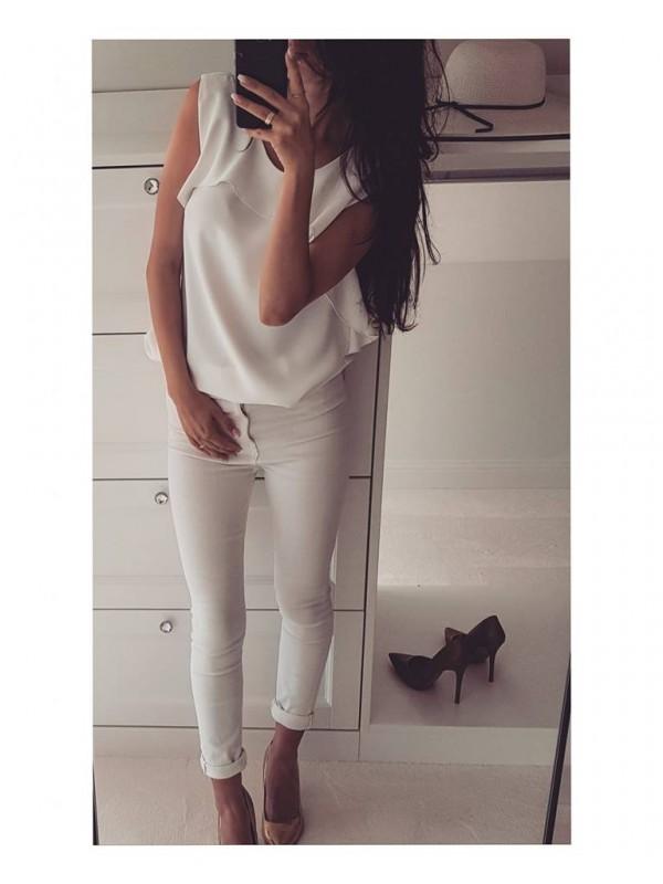 bluzka biała s