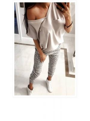 spodnie print xs