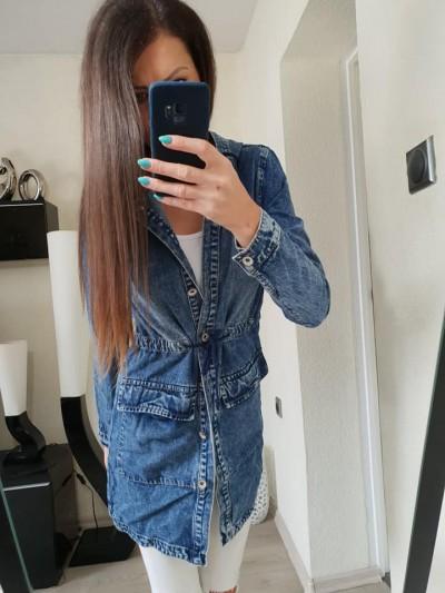 parka jeans  L