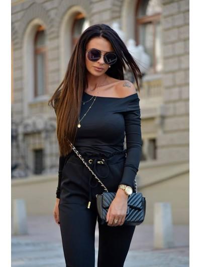 bluzka casual czarna
