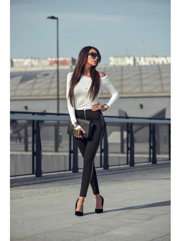 Spodnie strip lateks xs