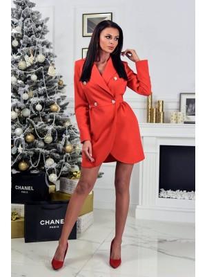 Sukienka chanell  czerwona S