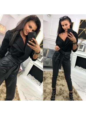 body koszulowe elegance czarne