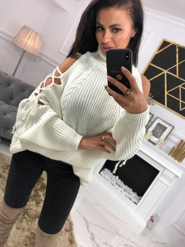 swetr golf majo jasny