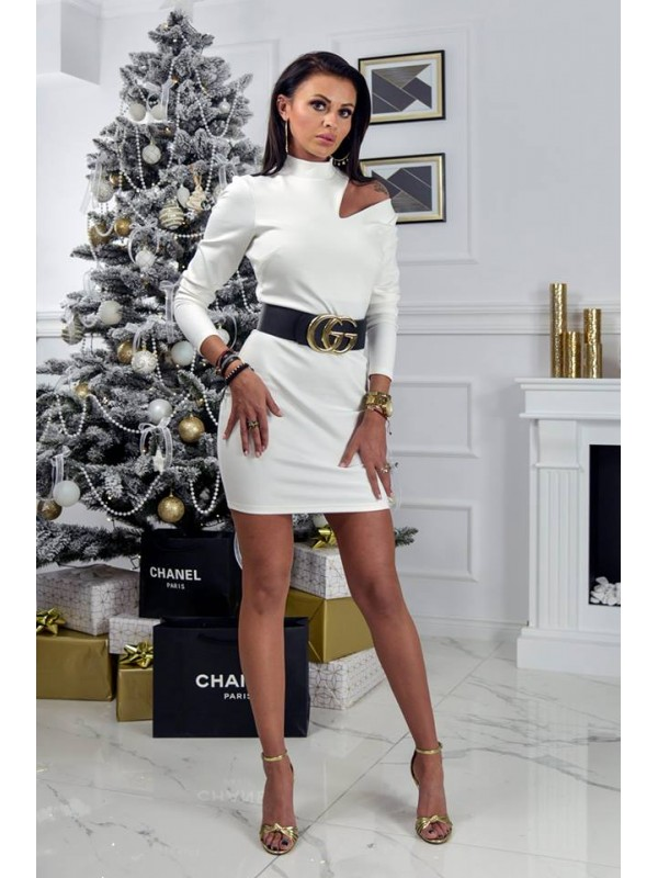 sukienka quality biała s