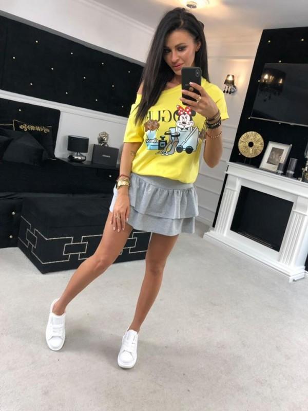 bluza mickey żółta
