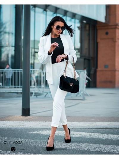 garnitur classic biały m/l