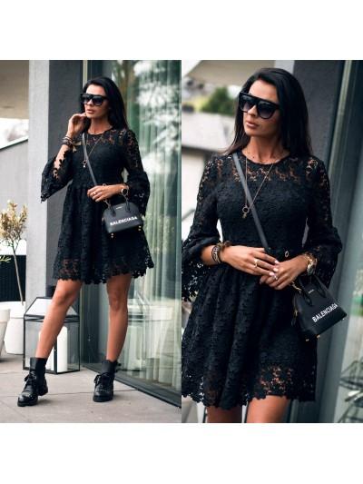 sukienka best lace czarna m