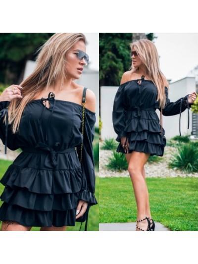 sukienka spain czarna