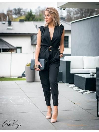 kombinezon elegance  czarny