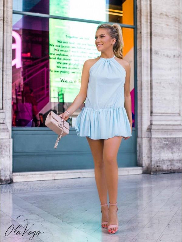 sukienak roma błękit
