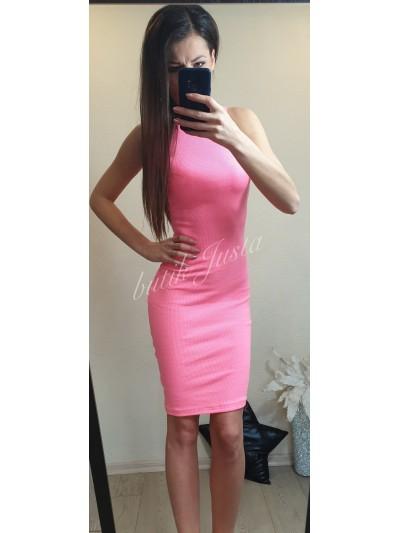 sukienka loren neon róż