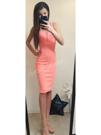 sukienka lena orange