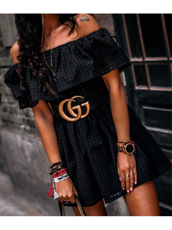 sukienka marant czarna