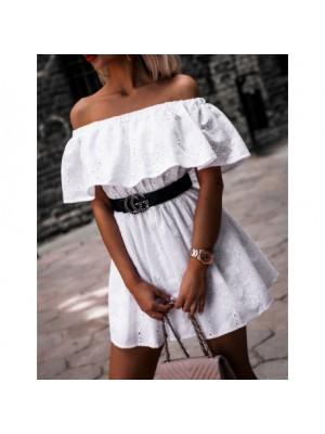 sukienka marant biała