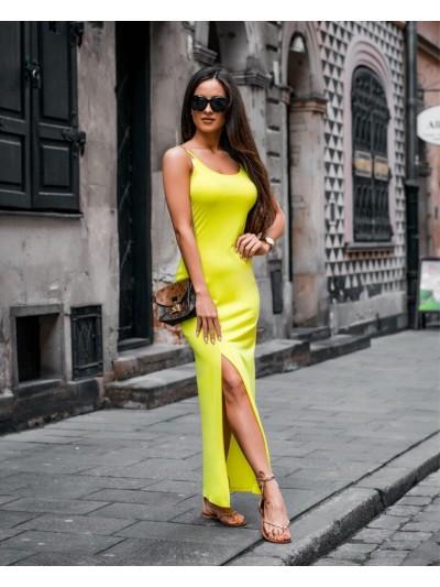 sukienka susnet limonka
