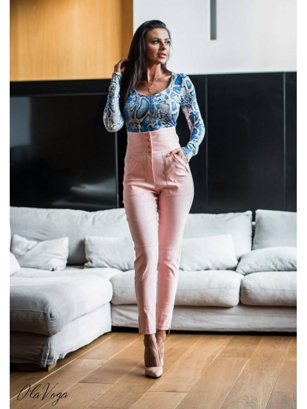 spodnie sophia rózowe xs