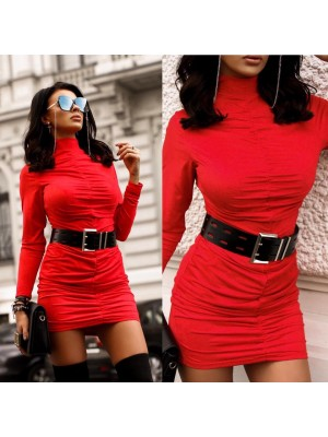 sukienka nacy czerwona m