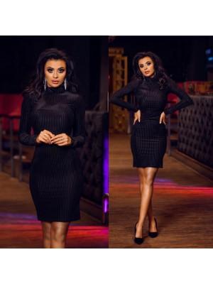 sukienka sexi look czarna xs/s