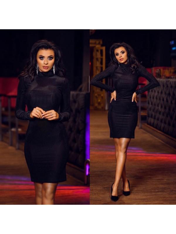 sukienka  sexi look czarna s/m