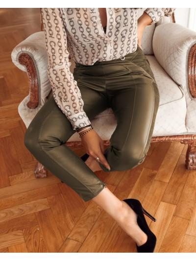 spodnie milano khaki m