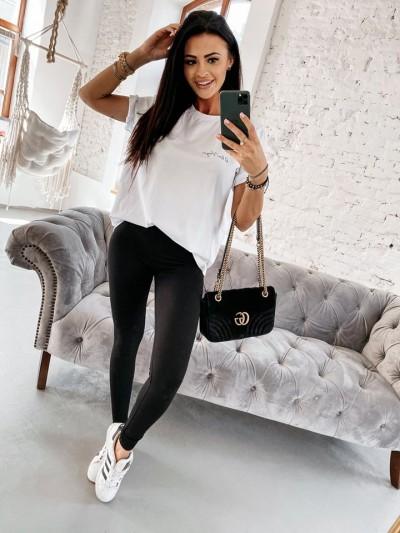 tshirt simply set biały