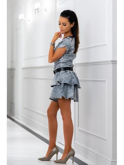 sukienka jeans grace xs