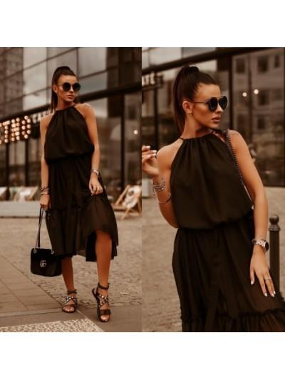 sukienka costa rica czarna
