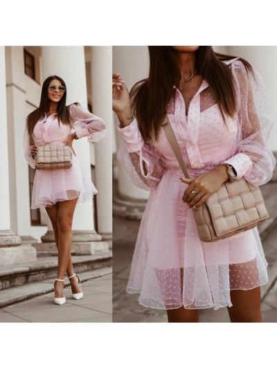 sukienka doots dres różowa m