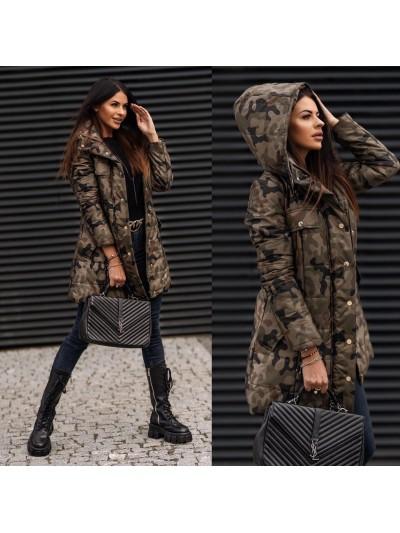 Płaszcz military coat S