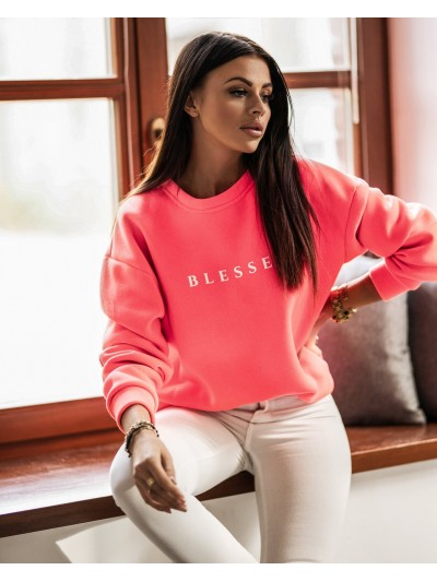 bluza blessed neon