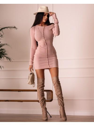 sukienka stith różowa