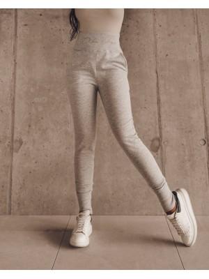spodnie duble belt szare s