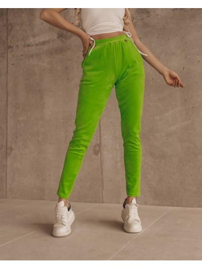 spodnie easy look limonka m