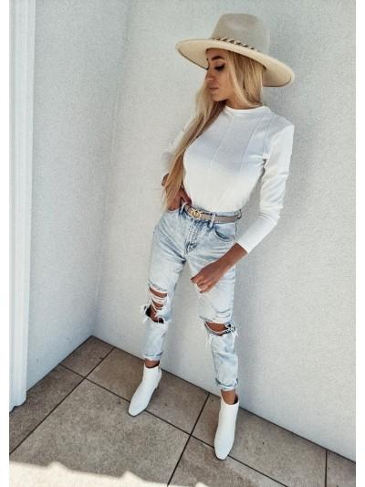 bluzka biała by me xs